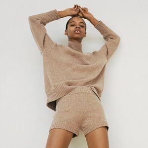 Zara wool blend knit sweater